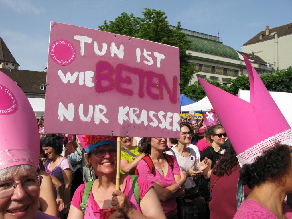 Basel: Tun ist wie Beten – nur krasser.  | © Christian von Arx