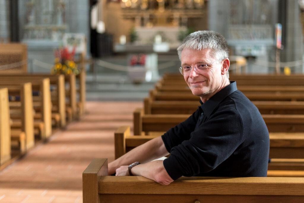 Raphael Immoos, künstlerischer Leiter der Basler Madrigalisten | © René Reiche