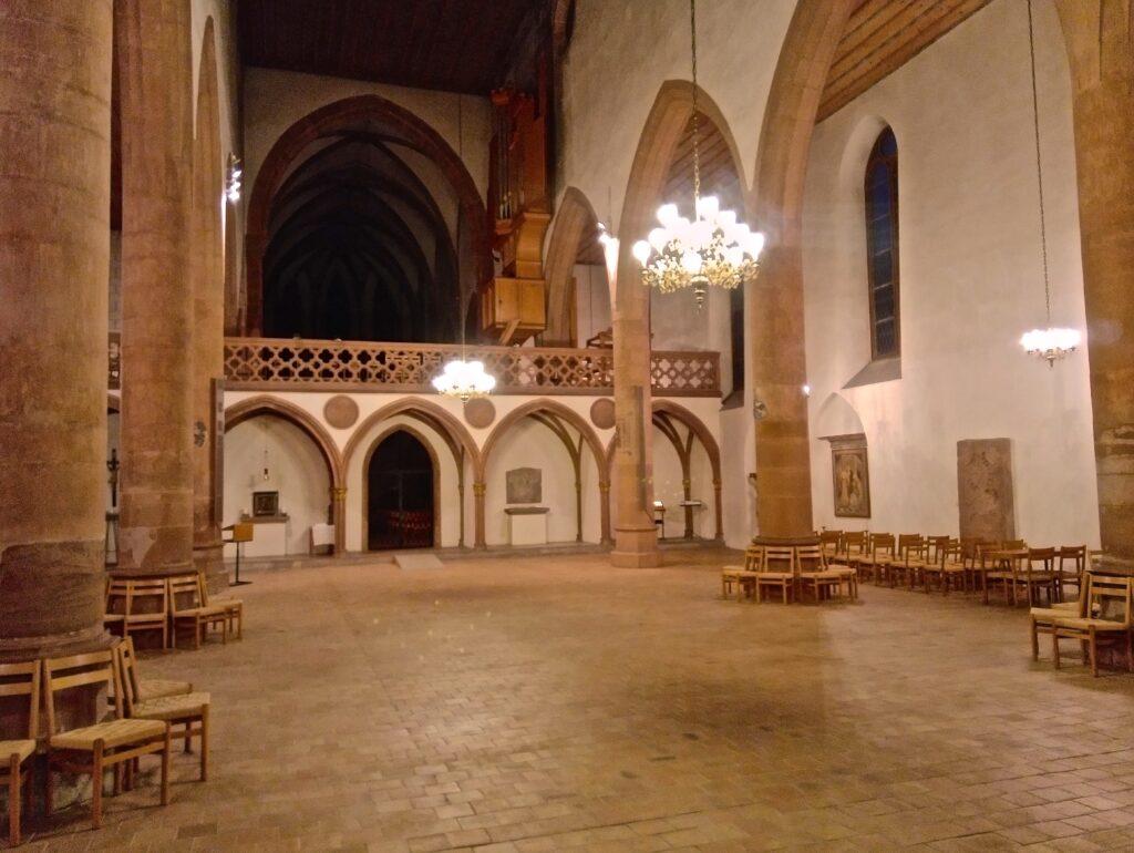 Das Innere der Predigerkirche ist für eine Nutzung als Notfallaufnahme geeignet. | © Martin Sg./wikimedia