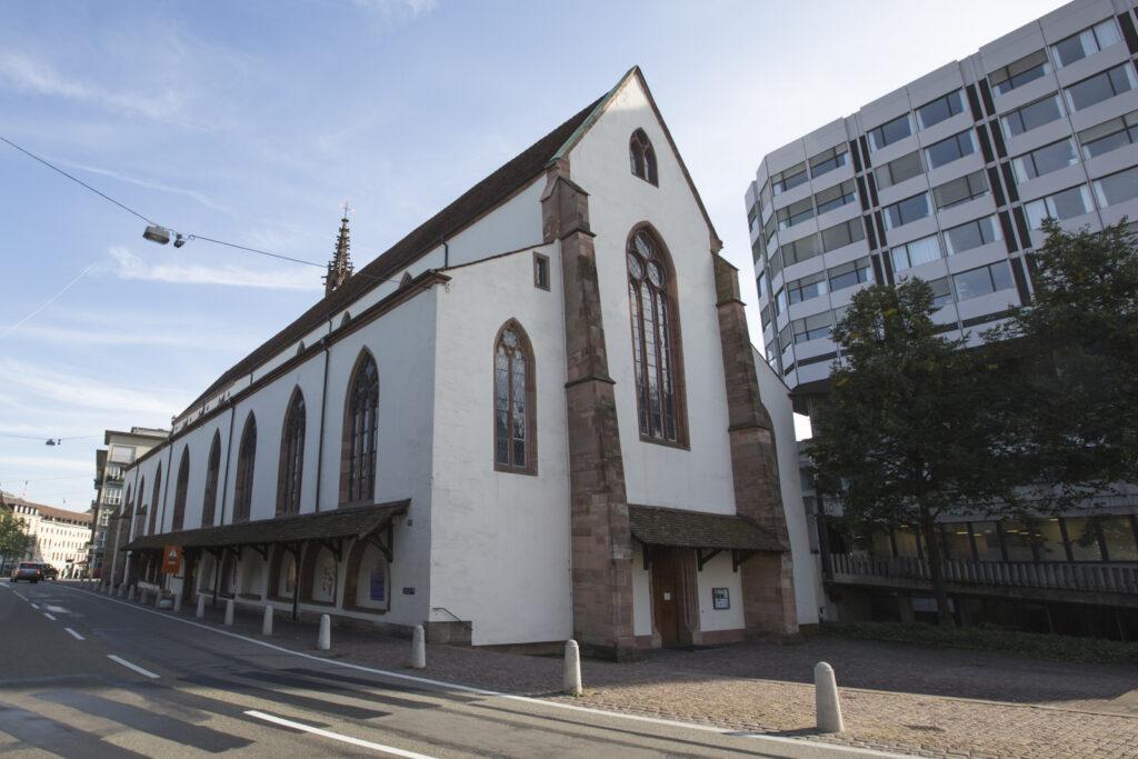 Der Zugang zur Predigerkirche via Nord- (Bild) und Ostportal ist ab 4. März nur noch für Patienten möglich. | © Grubyak/wikimedia