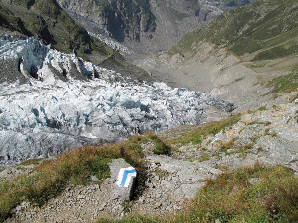 Die Folgen des Gletscherschwunds sehen in Grindelwald dramatisch aus. | © berggeist007 / pixelio.de