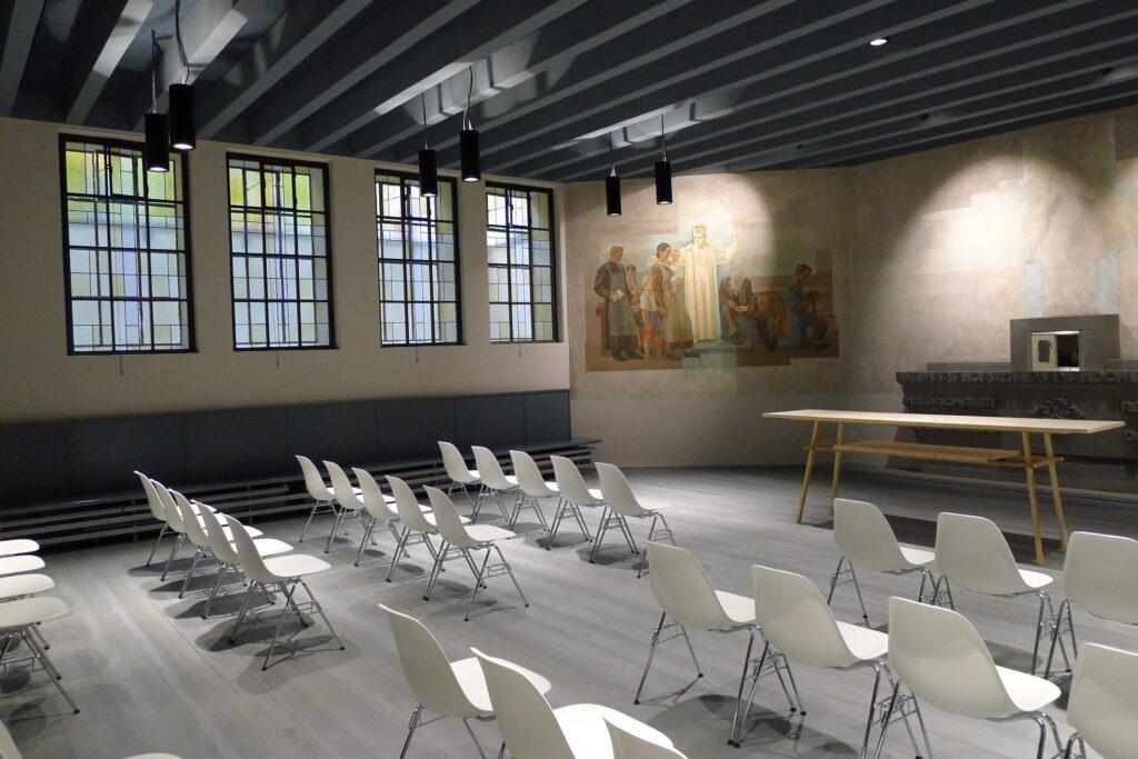 Die Kapelle ist bald bereit für die Wiederaufnahme des kirchlichen Lebens. | © Regula Vogt-Kohler