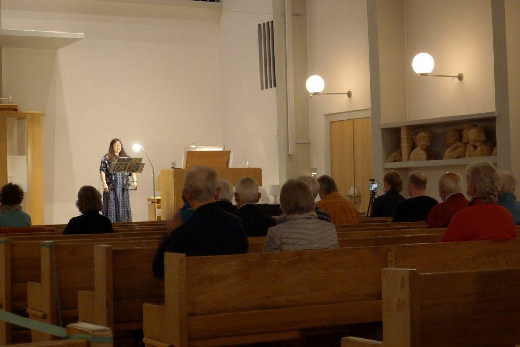 Allschwil: Musikalische Häppchen in der reformierten Christuskirche. | © Regula Vogt-Kohler